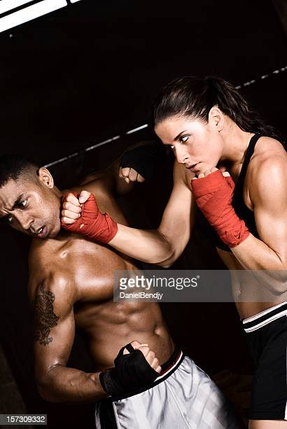 match - mixed boxing stock photos and pictures