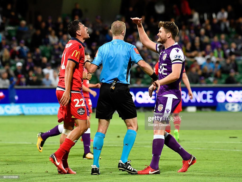 A-League Rd 14 - Perth v Adelaide