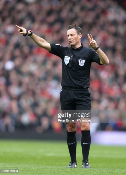Match referee Mark Clattenburg