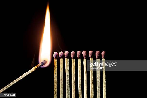 match set - flammable stock photos and pictures