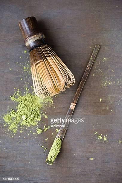 Matcha tea, Matcha whisk and spatula