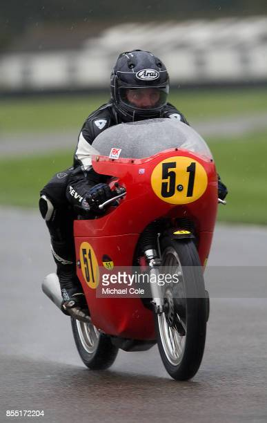 Matchless G50 ridden by entrant Derek Bunning Brian Morrison in the Barry Sheene Memorial Trophy at Goodwood on September 8th 2017 in Chichester...