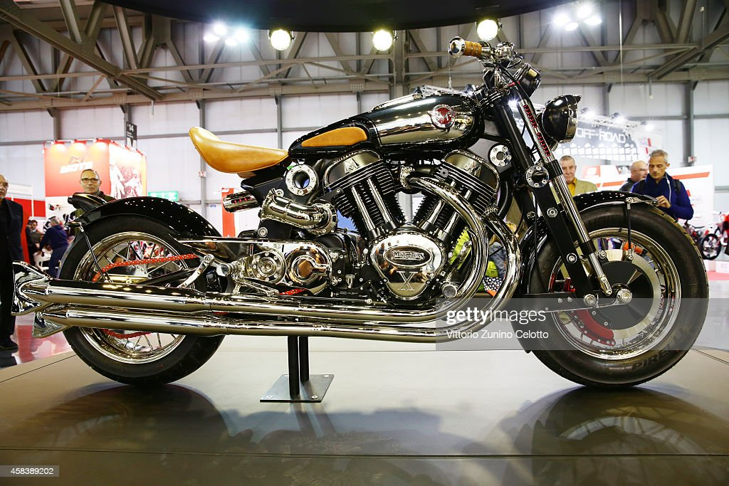 Matchless Presents Officially The Model X  Reloaded In Milan : News Photo