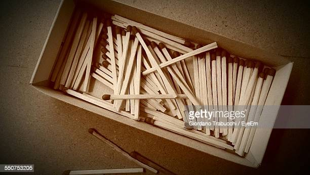 Matchsticks In Box