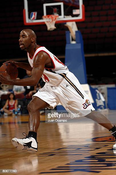 Mateen Cleaves of the Bakersfield Jam drives upcourt during the game against the Utah Flash on March 22, 2008 at Rabobank Arena in Bakersfield,...
