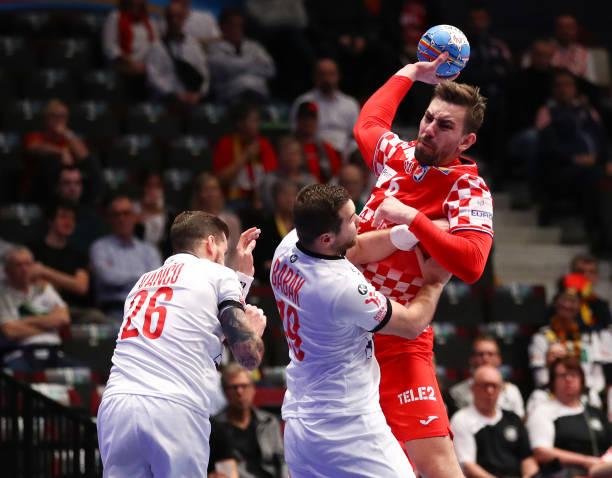 AUT: Croatia v Czech Republic: Group I - Men's EHF EURO 2020