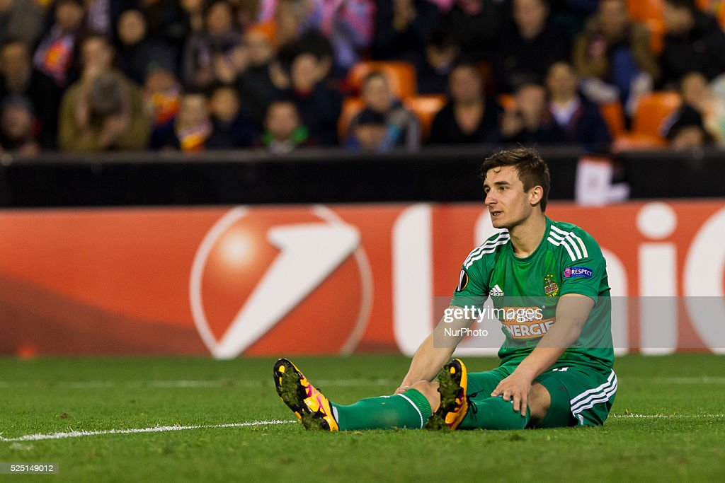 Valencia CF vs Sk Rapid Wien - UEFA Europa League : News Photo