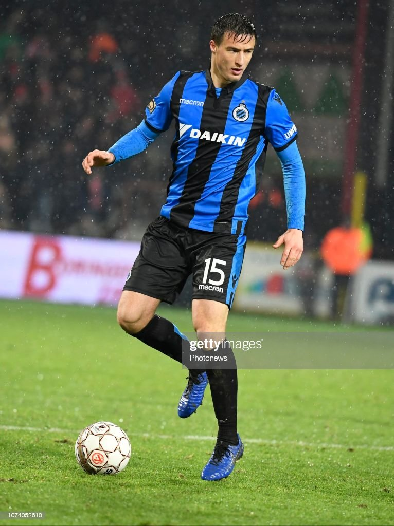 Matej Mitrovic Defender Of Club Brugge Pictured During Jupiler Pro News Photo Getty Images