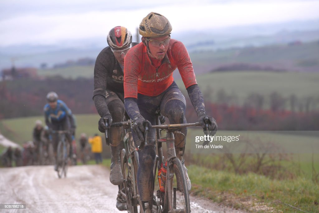 Matej Mohoric from Slovenia / Eroica / Siena - Siena (184km) on March 3, 2018 in Siena, Italy.