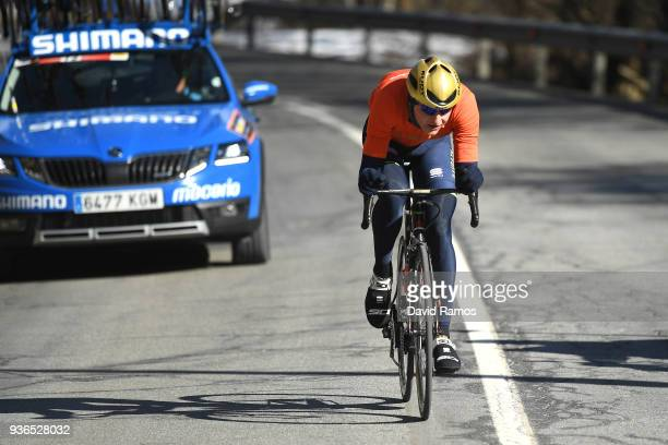 Matej Mohoric of Slovenia and Bahrain-Merida / during the 98th Volta Ciclista a Catalunya 2018, Stage 4 a 170,8km stage from Llanars-Vall De...