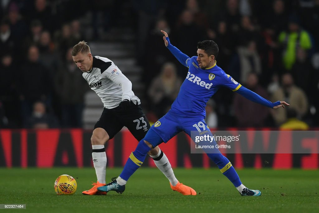 Derby County v Leeds United - Sky Bet Championship