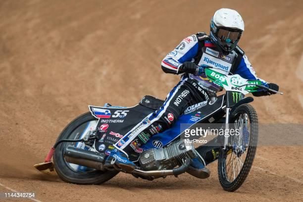 Matej Zagar during FIM Speedway Grand Prix Of Poland Training in Warsaw Poland on 17 May 2019