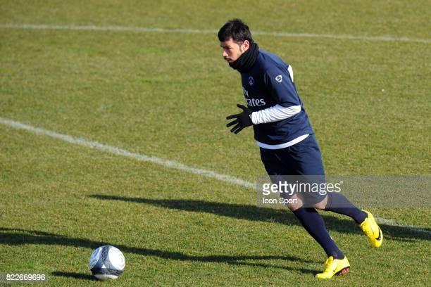 Mateja KEZMAN Entrainement / Decrassage du PSG Camp des loges Saint Germain en Laye