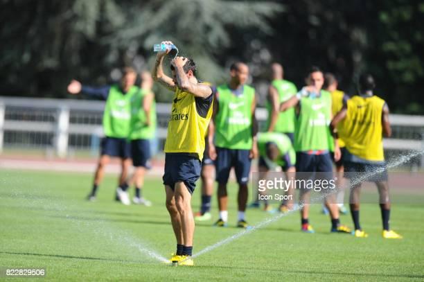 Mateja KEZMAN Entrainement du PSG Stage de preparation a Aix Les Bains