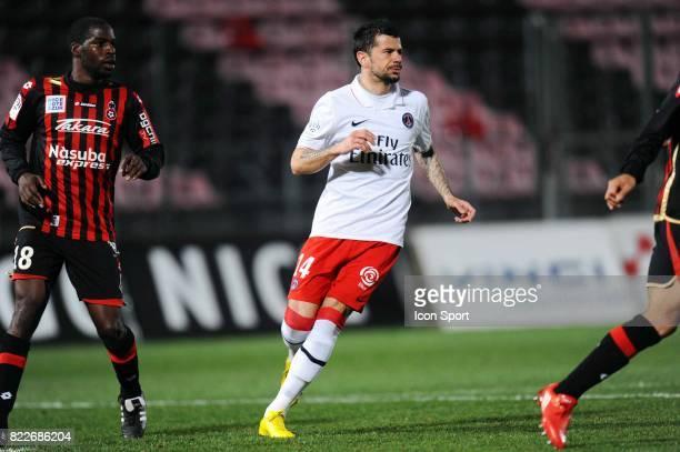 Mateja KEZMAN Nice / Paris Saint Germain 29e journee Ligue 1 Stade du Ray Nice