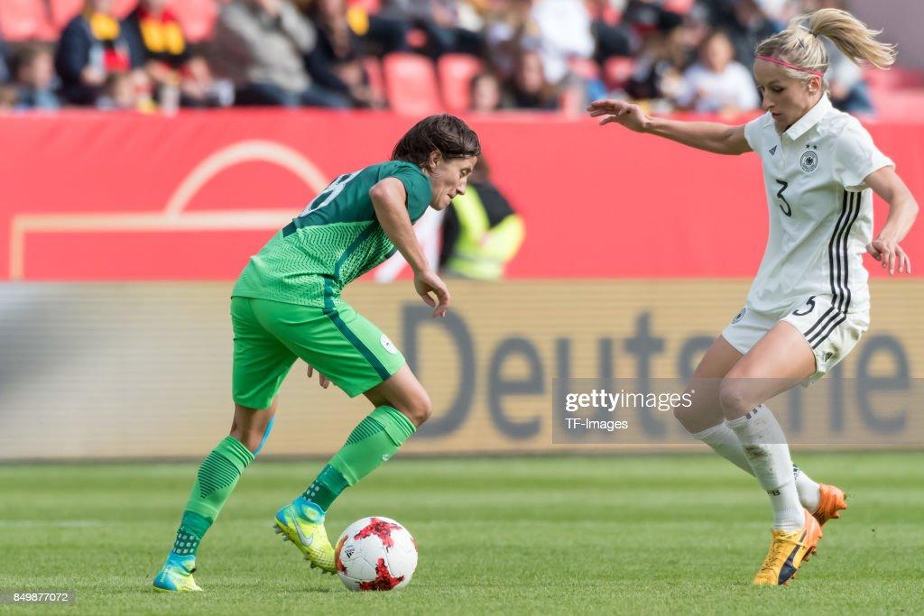 Germany Women's v Slovenia Women's - 2019 FIFA Women's World Championship Qualifier : News Photo