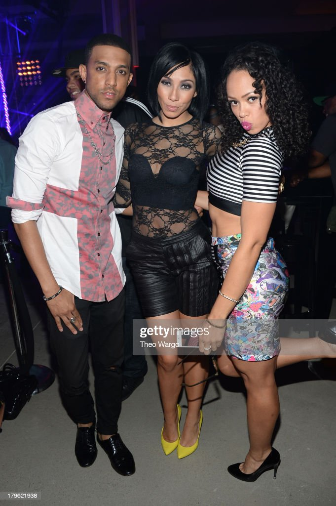 Mateo, Bridget Kelly, and Elle Varner attend the VEVO And Styled To Rock Celebration Hosted by 'Styled to Rock' Mentor Erin Wasson with Performances by Bridget Kelly & Cazzette on September 5, 2013 in New York City.