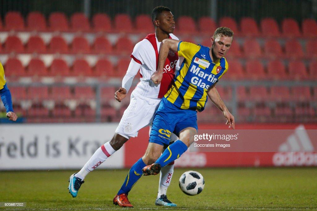 Ajax U23 v FC Oss - Dutch Jupiler League : News Photo