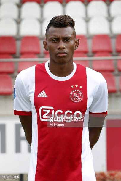 Mateo Cassierra during the team presentation of Ajax on July 22 2017 at the at the Toekomst in Amsterdam The Netherlands