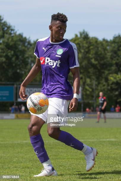 Mateo Cassierra of FC Groningen during the Club Friendly match between vv 't Fean '58 v FC Groningen at the Sportpark It Ketting on July 7 2018 in...
