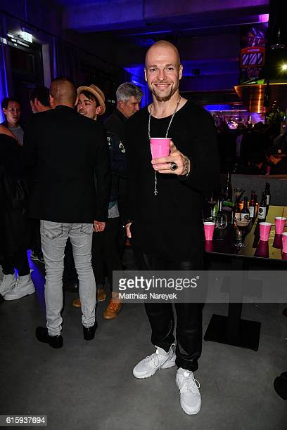 Mateo Jaschik attends the Moxy Berlin Hotel Opening Party on October 20, 2016 in Berlin, Germany.