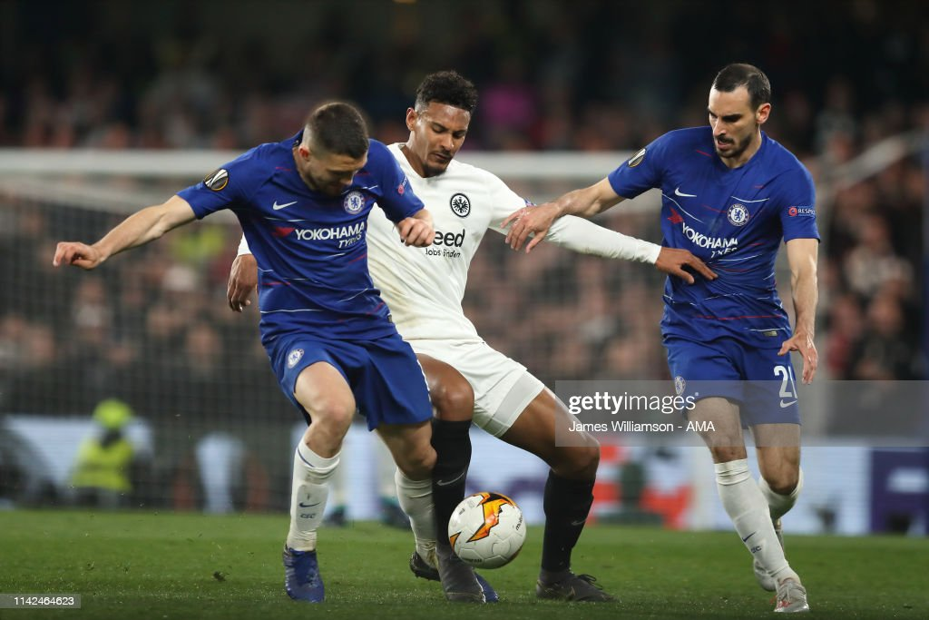 Chelsea v Eintracht Frankfurt - UEFA Europa League Semi Final : Second Leg : News Photo