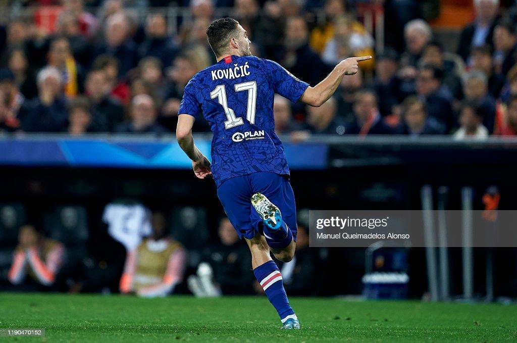 Valencia CF v Chelsea FC: Group H - UEFA Champions League : News Photo
