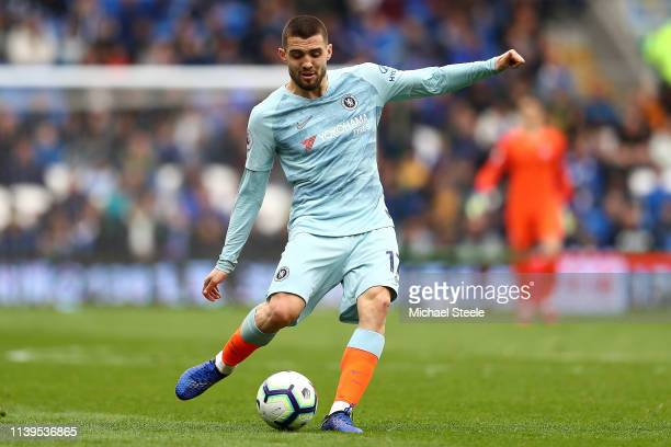 Mateo Kovacic of Chelsea during the Premier League match between Cardiff City and Chelsea FC at Cardiff City Stadium on March 31 2019 in Cardiff...