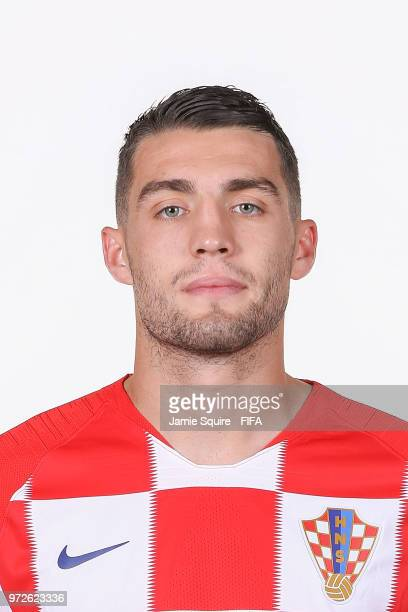 Mateo Kovacic of Croatia poses during the official FIFA World Cup 2018 portrait session at on June 12 2018 in Saint Petersburg Russia