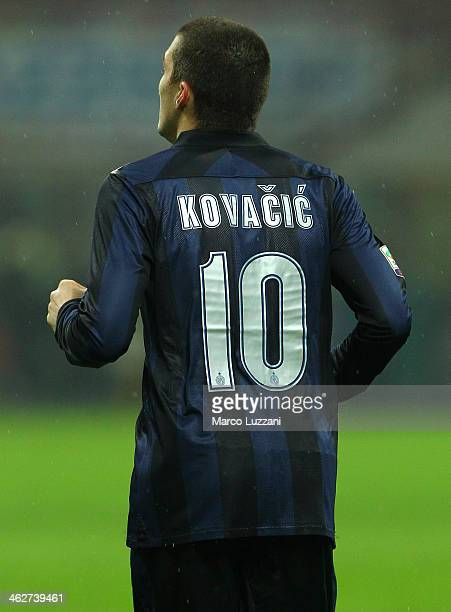 Mateo Kovacic of FC Internazionale Milano during the Serie A match between FC Internazionale Milano and AC Chievo Verona at San Siro Stadium on...