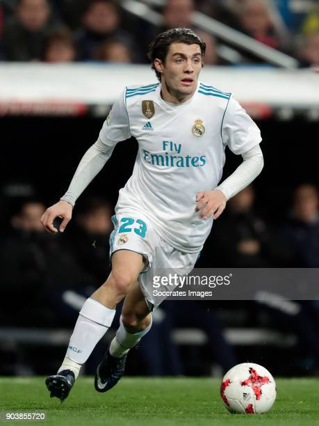 Mateo Kovacic of Real Madrid during the Spanish Copa del Rey match between Real Madrid v Numancia on January 10 2018