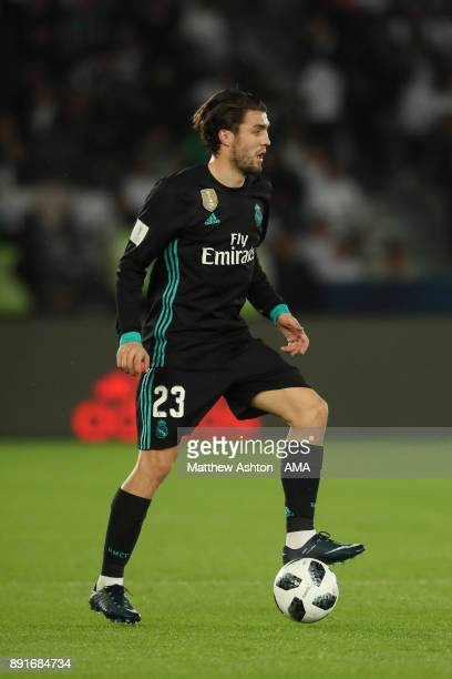 Mateo Kovacic of Real Madrid in action during the FIFA Club World Cup UAE 2017 semifin al match between Al Jazira and Real Madrid CF at Zayed Sports...