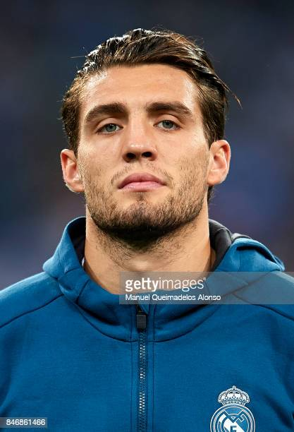 Mateo Kovacic of Real Madrid looks on prior to the UEFA Champions League group H match between Real Madrid and APOEL Nikosia at Estadio Santiago...