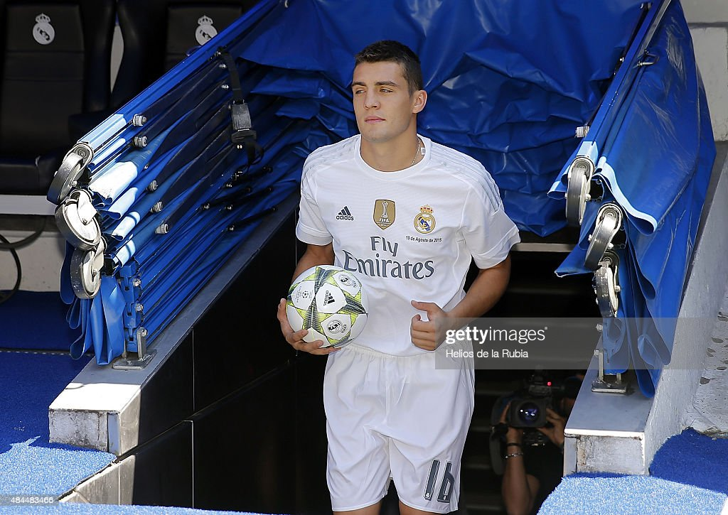 Real Madrid Unveil New Signing Mateo Kovacic : News Photo