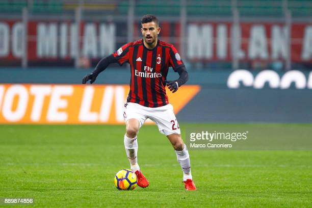 Mateo Musacchio of Ac Milan in action during the Serie A football match between AC Milan and Bologna Fc Ac Milan wins 21 over Bologna Fc