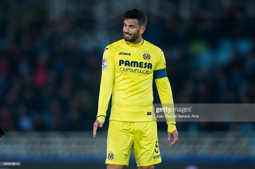 Real Sociedad v Villarreal - Copa del Rey: Round of 16 First Leg