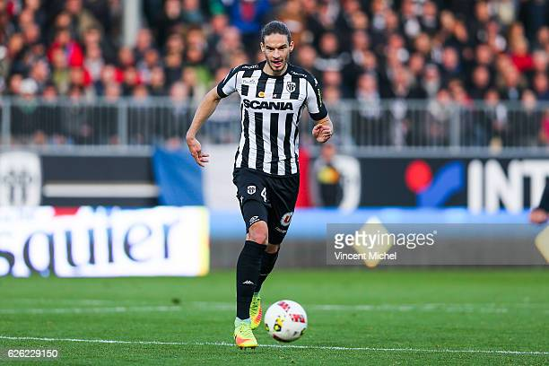Mateo Pavlovic of Angers during the French Ligue 1 match between Angers and Saint Etienne on November 27 2016 in Angers France
