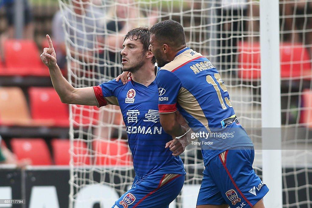 A-League Rd 15 - Newcastle v Perth