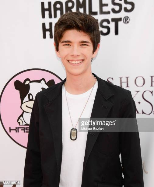 Mateo Simon arrives at Teen Recording Artist Mahkenna's Sweet 16/Expect2Win Extravaganza at ANC Productions on March 26 2017 in Burbank California