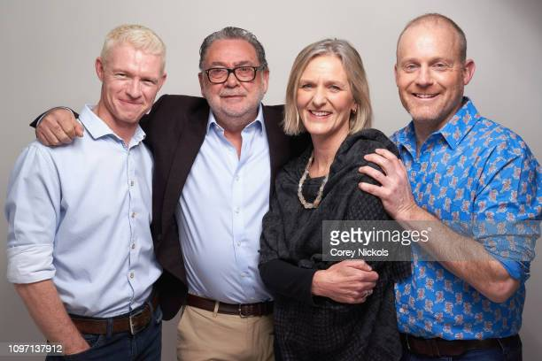 Mateo Willis Guillermo Navarro Martha Holmes and Tom HughJones of National Geographic's Hostile Planet pose for a portrait during the 2019 Winter TCA...