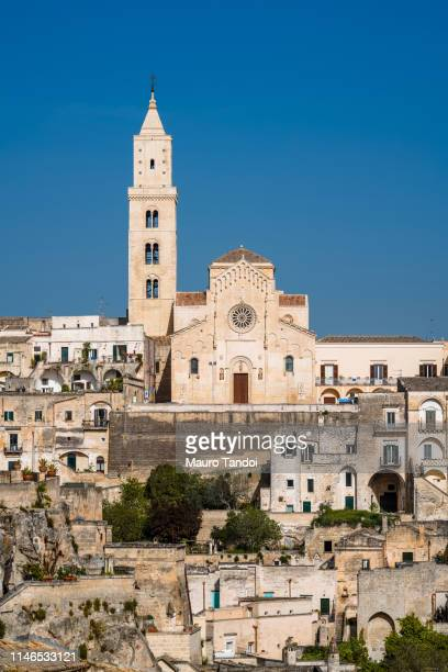 matera cathedral, basilicata, italy - mauro tandoi stock photos and pictures