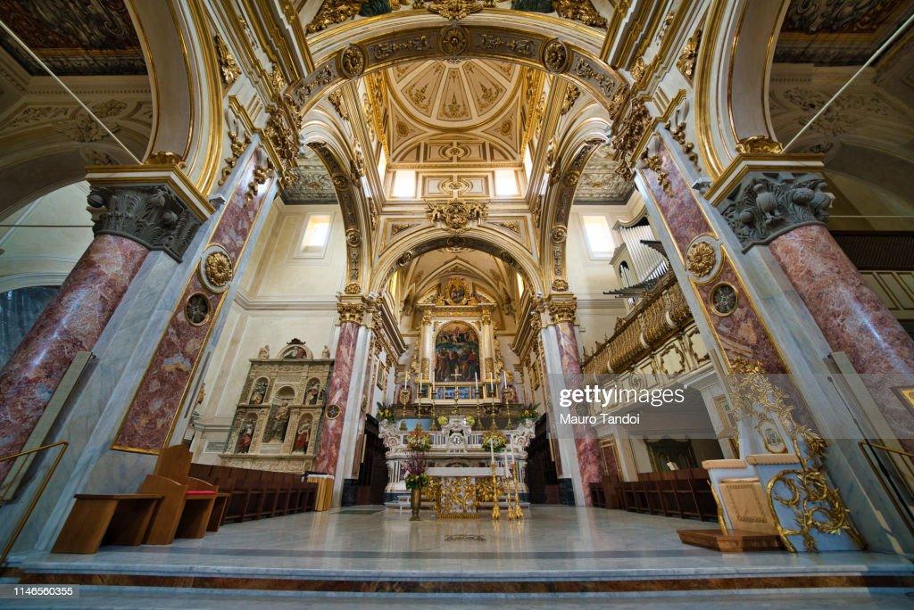 Matera Cathedral, Basilicata, Italy : Stock Photo