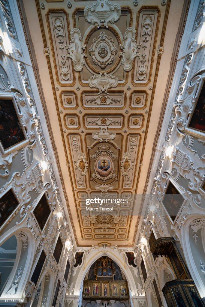 Matera - Church of Saint Francis of Assisi, Basilicata, Italy : Foto stock