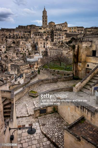 matera, italy - european capital of culture for 2019 - matera stock photos and pictures