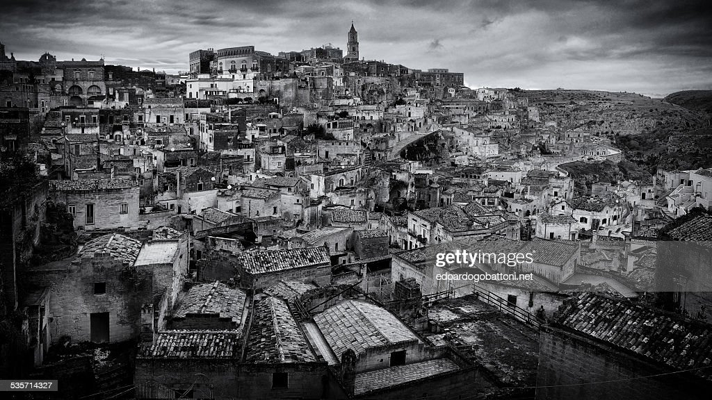 Matera old charm : Stock Photo