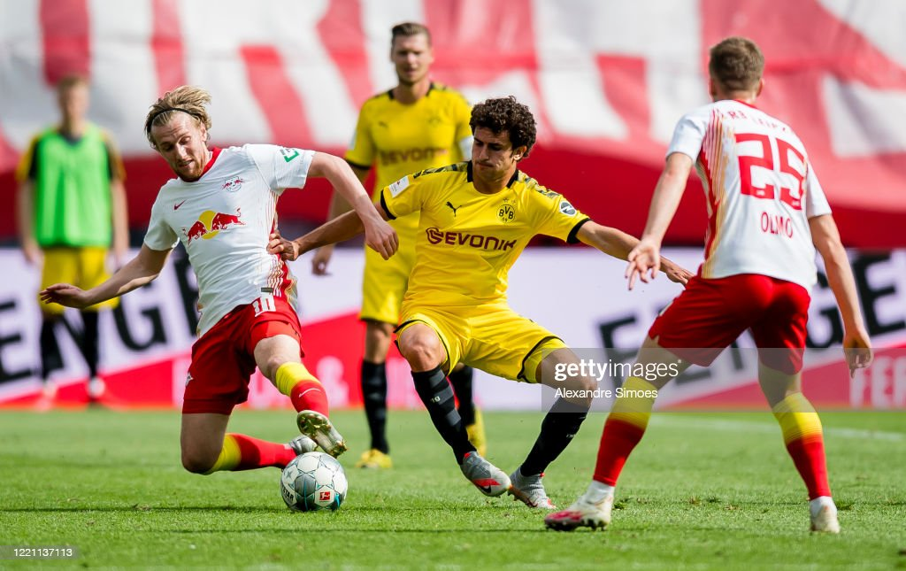 RB Leipzig v Borussia Dortmund - Bundesliga : News Photo