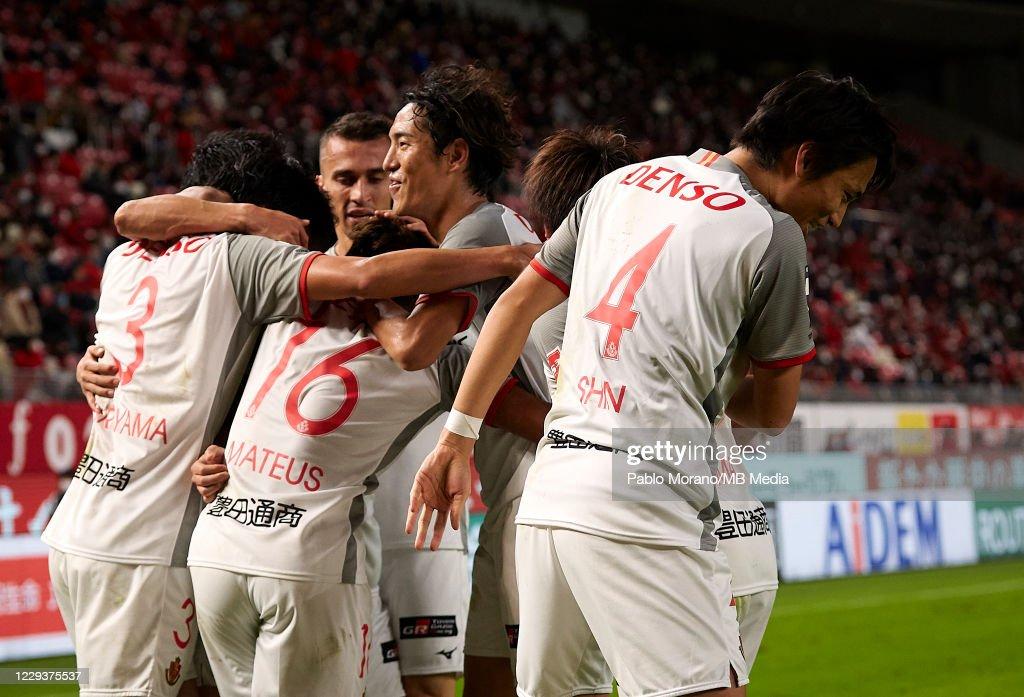Kashima Antlers v Nagoya Grampus - J.League Meiji Yasuda J1 : ニュース写真