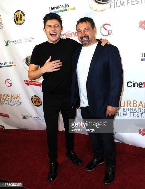 Mateus Ward and Justin Ward attend the Premiere Of Relish At The Burbank International Film Festival held at AMC Burbank 16 on September 6 2019 in...