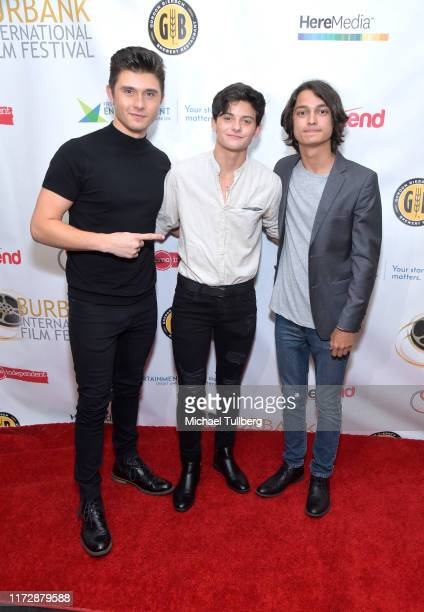 "Mateus Ward, Tyler DiChiara and Rio Mangini attend the premiere of ""Relish"" at the Burbank International Film Festival at AMC Burbank 16 on September..."