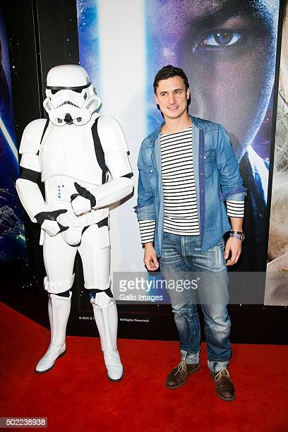WARSAW POLAND DECEMBER 21 Mateusz Damiecki attends the premiere of Star Wars The Force Awakens on December 17 2015 at the Multikino Zlote Tarasy in...